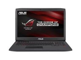 ASUS G751JY-WH71(WX) Gaming Laptop Front Shot