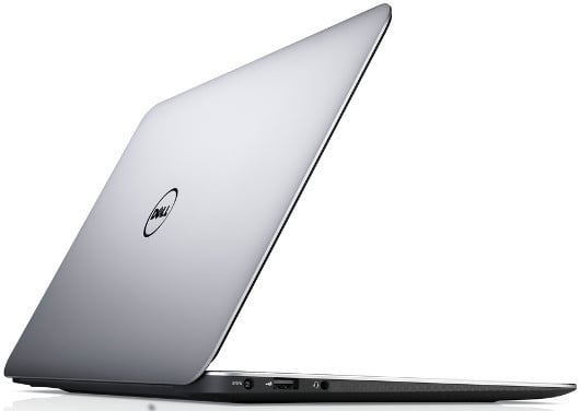 Dell XPS 13 - Best Laptop for Home Use Back View