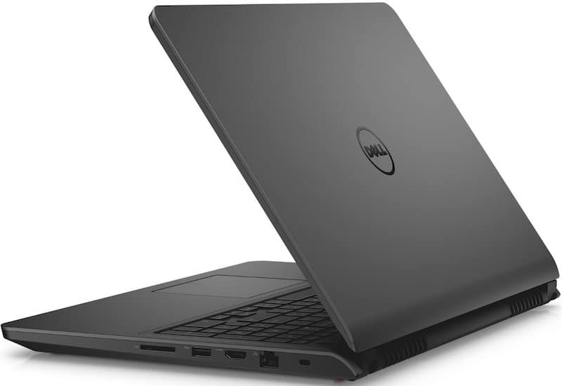 Dell Inspiron i7559 - Best Laptop for Photo Editing Back Shot
