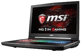 Best 17 inch Laptop Front Shot - MSI GT73VR Titan