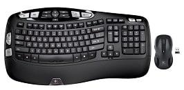 Logitech Mk550 Wave Wireless Keyboard/Mouse Combo