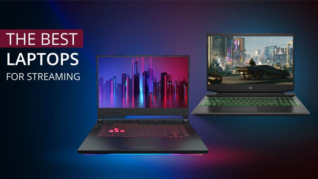 Best Laptop for Streaming Featured Image