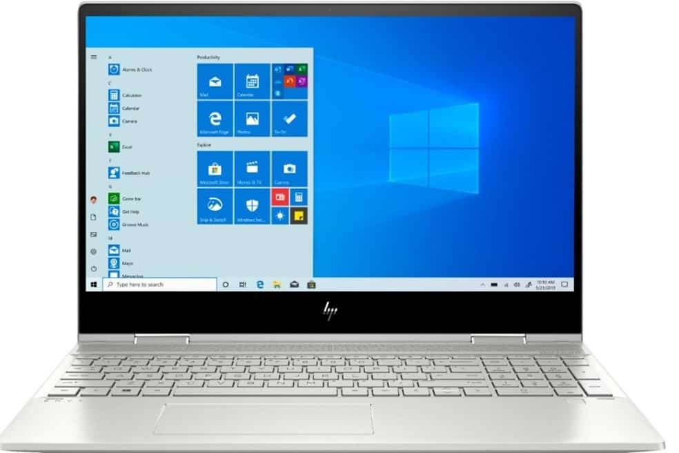 Best Laptop to Tablets - HP Envy x360